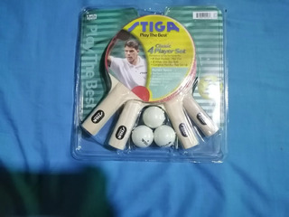 Set 4 Raquetas Ping Pong Stiga