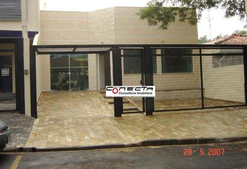 Imagem 1 de 7 de Salão Para Alugar, 320 M² Por R$ 9.900,00/mês - Jardim Guanabara - Campinas/sp - Sl0195