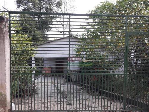 Imagem 1 de 6 de Chácara Com 3 Dormitórios À Venda, 2100 M² Por R$ 240.000 - Centro - Biritiba-mirim/sp - Ch0509