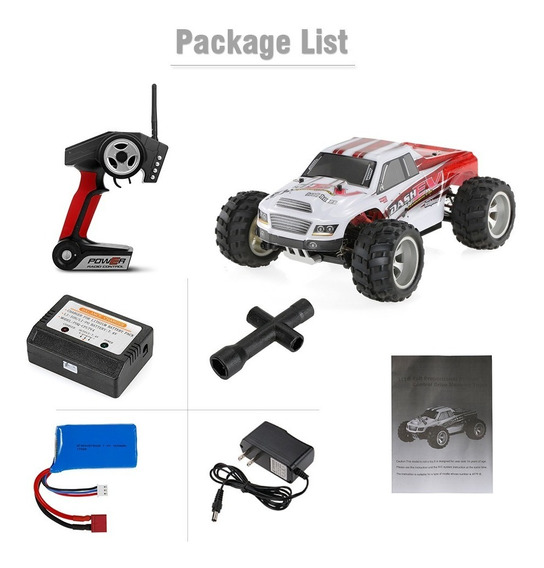 Wltoys A979-b 70km/h High Speed Electric Rtr Monster Truck R