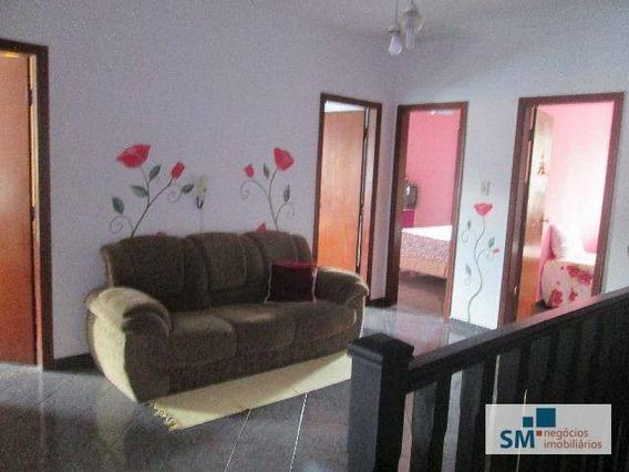 Sobrado Residencial À Venda, Rudge Ramos, São Bernardo Do Campo. - So0165