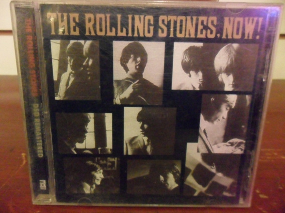 The Rolling Stones Now! Cd Europeo Remaster 2002 Eureka