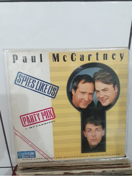 Lp Paul Mccartney Spies Like Us / Perry Mix