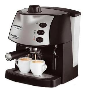 Cafeteira Mondial Espresso C-08 Preta 220V