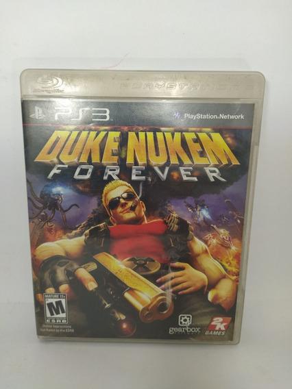 Jogo Ps3 Duke Nukem Forever Mídia Física Usado