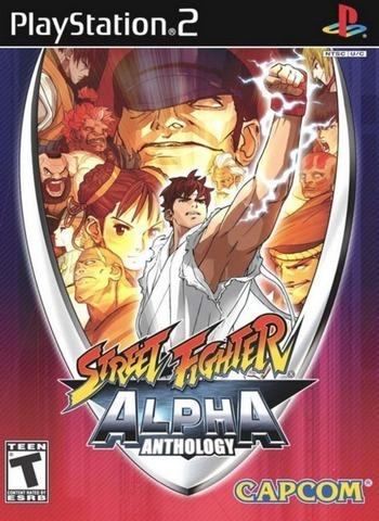 Jogo Ps2 - Street Fighter Alpha Anthology- Frete Grátis
