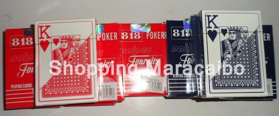2 X Mazos D Cartas Barajas Poker Y Mas *tienda Fisica*
