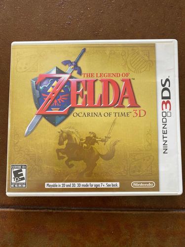 Juego Para Nintendo 3ds The Legend Of Zelda Ocarina Of Time