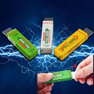 3 X Choque Eléctrico Broma Chicle Sorprendente Juguete Regal
