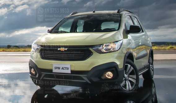 Chevrolet Spin Activ 1.8n Manual Ltz 5 Plazas 0km 2019 Em
