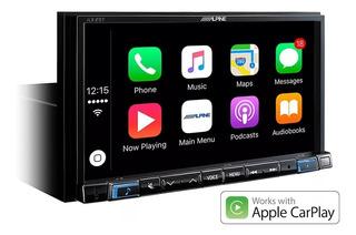 Multimedia Alpine Ilx-207 Carplay iPhone-android Instalación