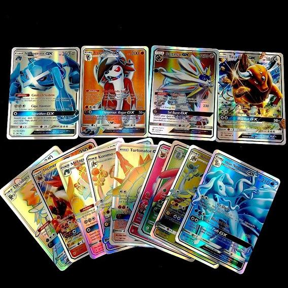 Lote 10 Cartas Pokémon Gx ( Sem Repetidas )