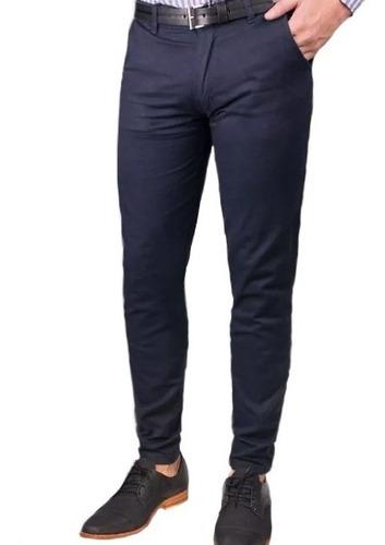Pantalon Hombre De Vestir Set X 2 Tela Gabardina Mercado Libre