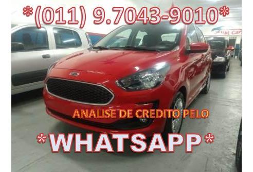 Ford Ka 1.0 Plus Zero Entrada / Sem Entrada