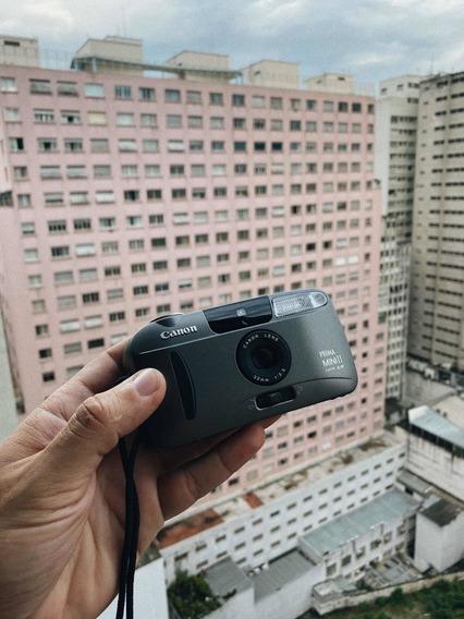 Câmera Analógica Canon Prima Mini Ii - Mju, Contax Yashica