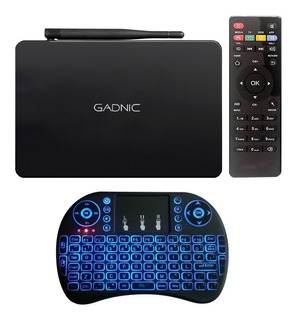 Kit Tv Box + Teclado Inalambrico 4k 3g 16gb Wifi Bluetooth