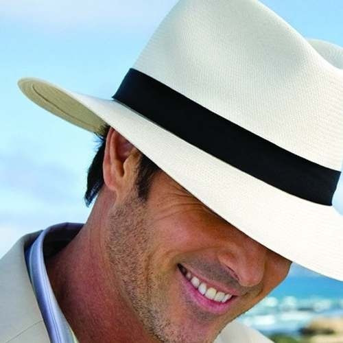 Chapéu Modelo Panamá Feito A Mão Artesanal Menor Preço Do Ml