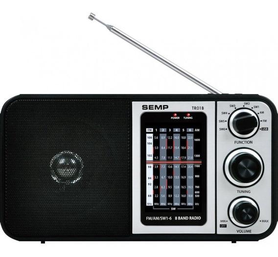 Radio Portátil 8 Faixas Usb Tr01b Toshiba