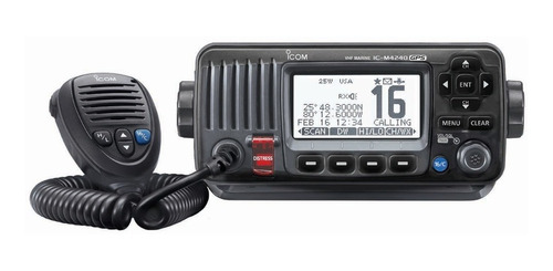 Radio Icom Ic-m424g Marina Vhf 25w