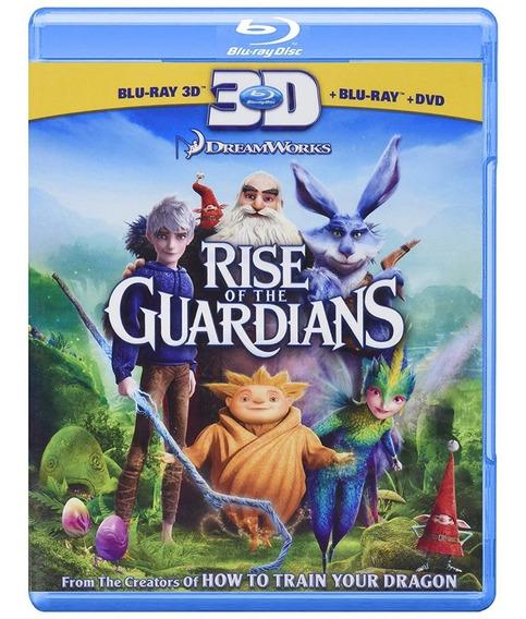 El Origen De Los Guardianes Pelicula Bluray3d + Bluray + Dvd