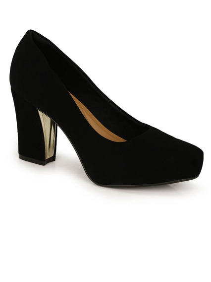 Sapato Salto Grosso Bebece