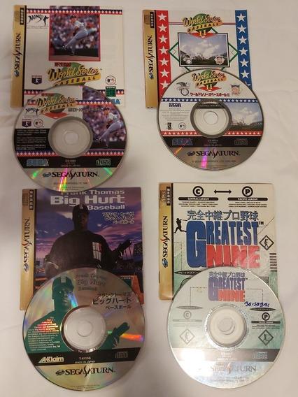 Jogos Baseball Sega Saturno - 5 Jogos !