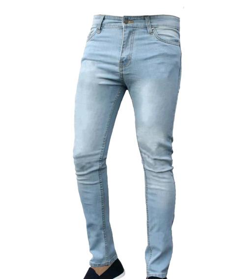 Jeans Especial Hombre Elastizado Talles 50 Al 60 Be Yourself