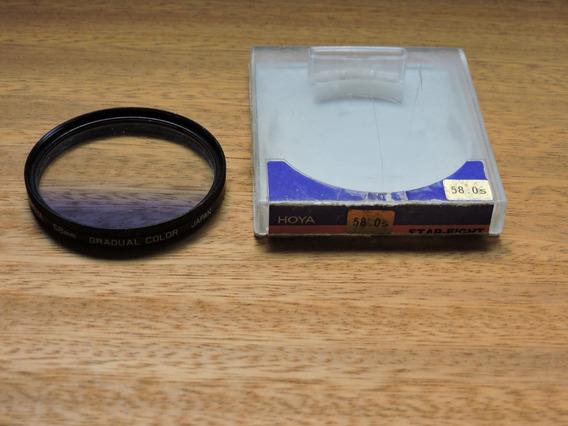Filtro Fotográfico Gradual Gradual Blue 58 Mm