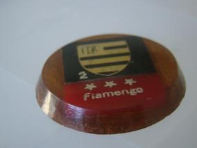 Cod 023 - Bequinho Embandeirado Resinado Do Flamengo 4,2cm