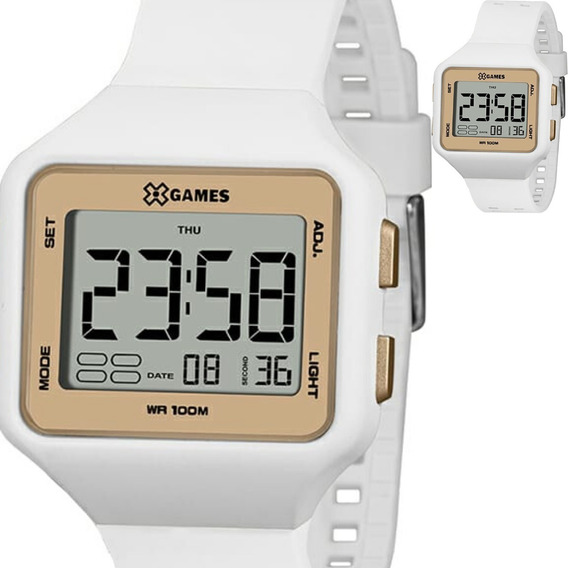 Relógio Feminino Masculino X Games Original Xlppd038 Bxbx