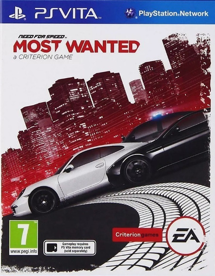 Frete Grátis Need For Speed Most Wanted Psvita - Lacrado!