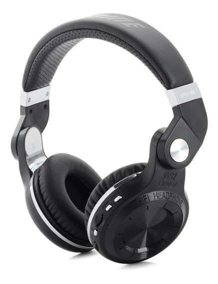 Headphone Bluedio T2+ Bluetooth V4.1 Giratório Fm Preto
