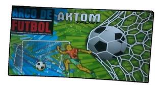 Arco De Futbol Chico Desarmable Aktom 0.50 X 0.80