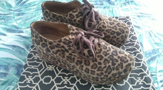 Zapatos Paruolo Animal Print 36