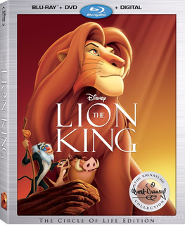 Blu-ray + Dvd The Lion King / El Rey Leon (1994)