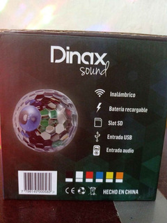 Parlante Lampara Led Dinax Sound