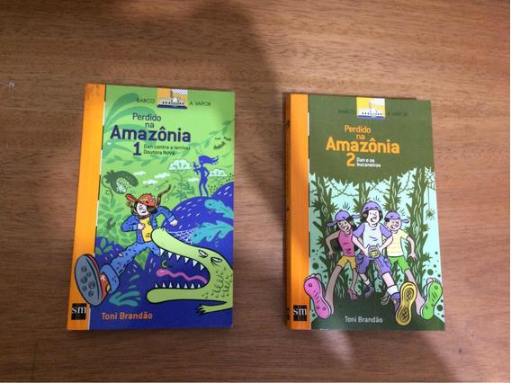 Livro - Perdido Na Amazônia 1 E 2