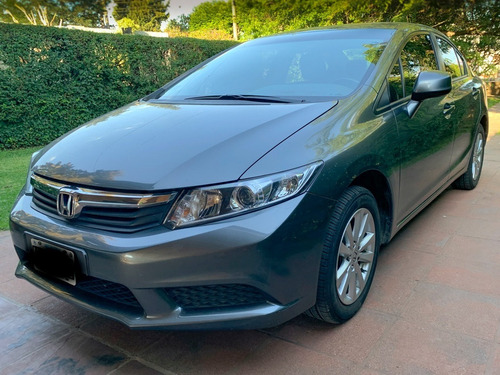 Honda Civic 1.8 Lxs At 140cv Unico Dueño Service Oficial