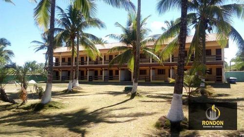 Pousada Com 18 Dormitórios À Venda, 2720 M² Por R$ 1.800.000,00 - Ilha De Atalaia - Canavieiras/ba - Po0002