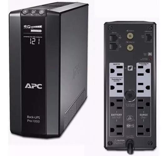 Br1000g Ups Apc Pro Br1000g 1000va/120v 8 Outlet