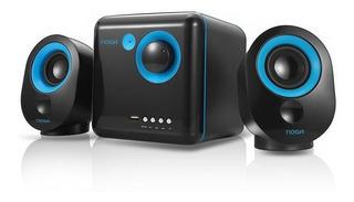 Parlantes Inalámbrico 2.1 Bluetooth Noganet Ml-3300 Usb