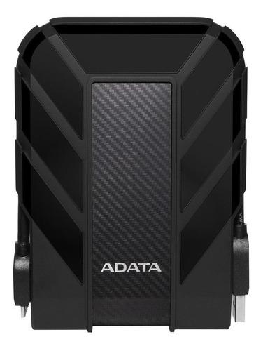 Imagen 1 de 3 de Disco duro externo Adata HD710 Pro AHD710P-2TU31 2TB negro