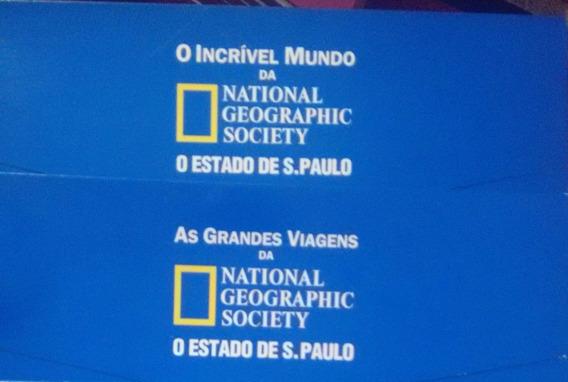 Coleção National Geographic: Incrível Mundo/grandes Viagens