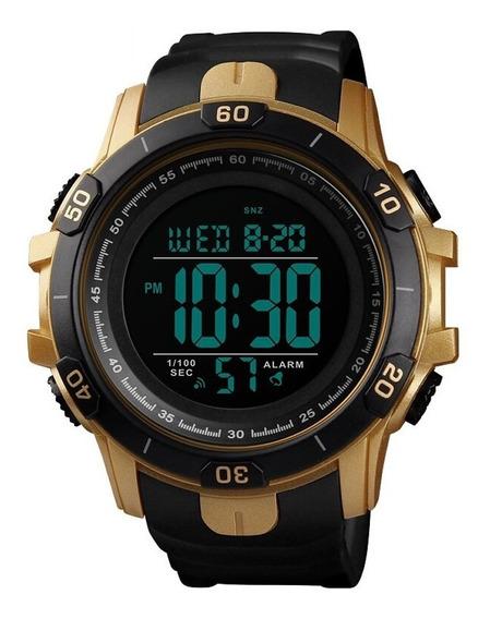 Relógio Smael Digital Crono Luz Alarme Data