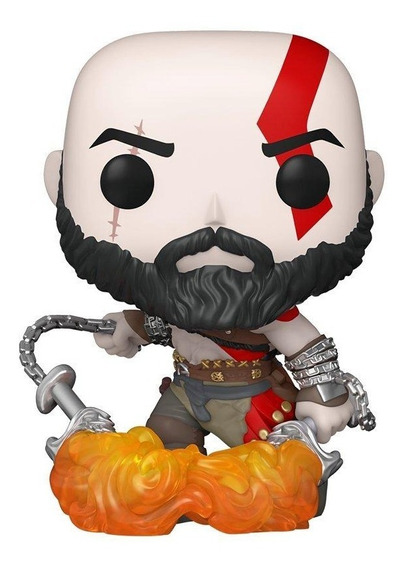 Boneco Funko Pop Games Playstation God Of War Kratos 154
