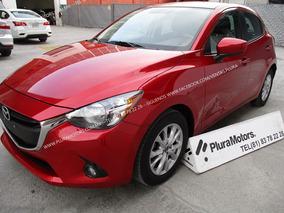 Mazda 2 I Touring 2016 Std Eléctrico Tela $185,000