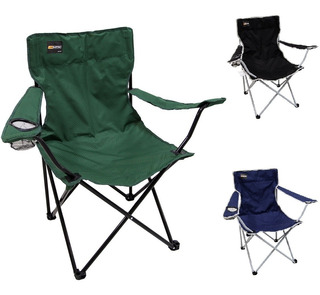 Cadeira De Camping Dobrável Alvorada Nautika Cores + Bolsa