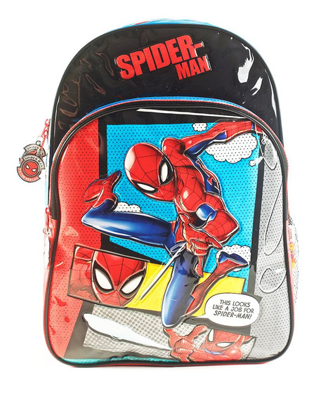 Mochila Spiderman Sense Espalda 16 Comic Original