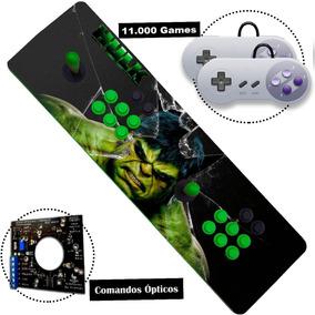 Arcade Fliperama Portátil 11000 Jogos Controle Duplo Optico