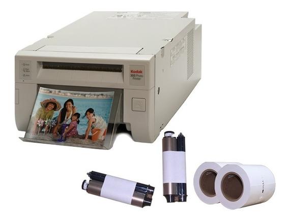 Impressora Kodak 305 + Kit P/ 320 Fotos